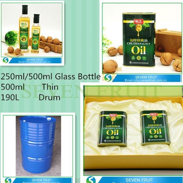 Wholesale Natural Premium Quality best Refined Cold Pressed Walnut Oil